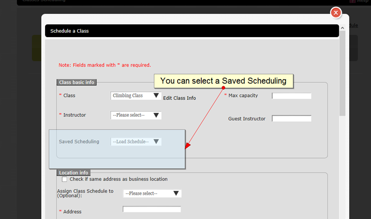 savedschedulingselection